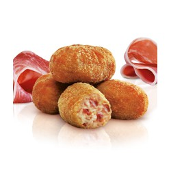 Croquetas de jamón casera (Bolsa 1 kg)